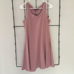 Brand New Pink Boohoo Skater Dress